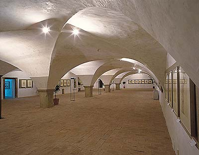 Český Krumlov, exhibitional hall of the Egon Schiele International Culture Center, foto: Libor Sváček