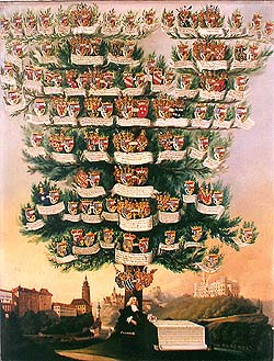 Schwarzenberg family tree