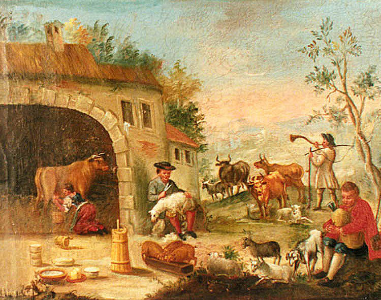 Agricultural revolution in 18th century