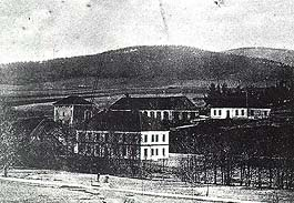 Ironworks in Holubov - Adolfov - historical photo