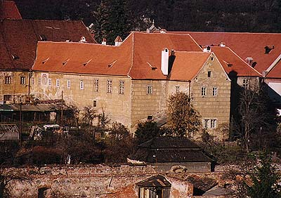 Latrán no.  50, Minorite monastery, view from the Vltava River, foto: Ladislav Pouzar