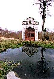 Omlenička, chapel at former spa-baths