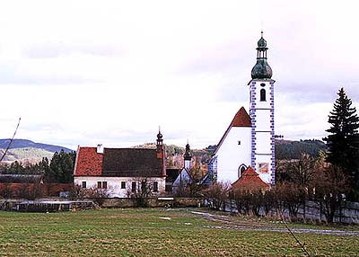 Church of Pilgrimage in Kájov