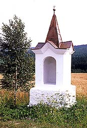 Chapel in the countryside between Světlík and Malšín